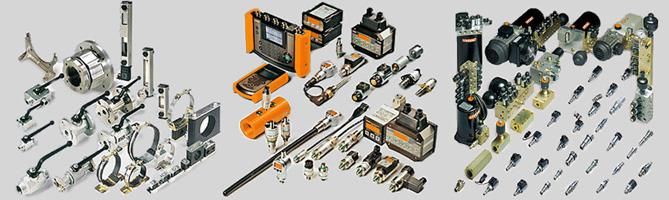 Hydraulik-Bauteile